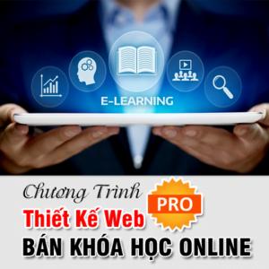 Thiết Kế Web Bán Khóa Học Đào Tạo Online PRO
